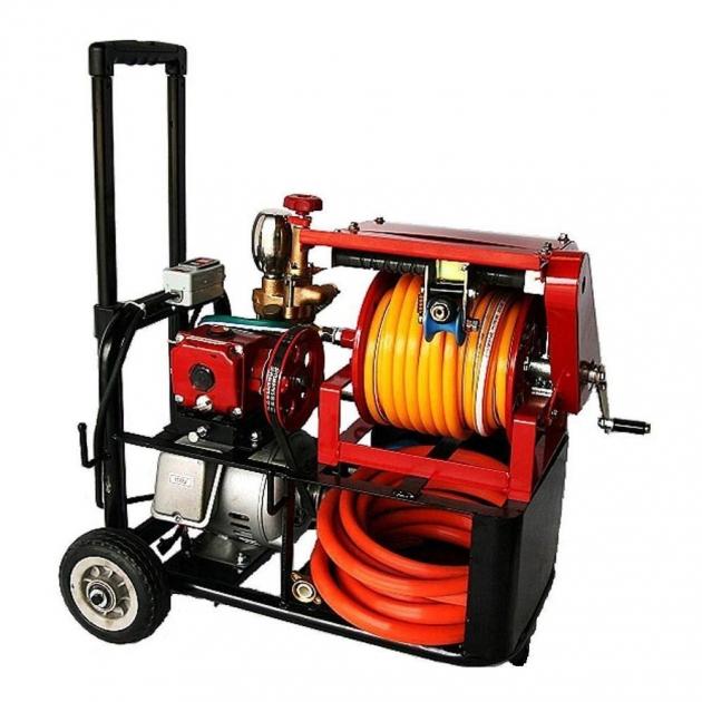 專利自排式捲收噴霧車 2
